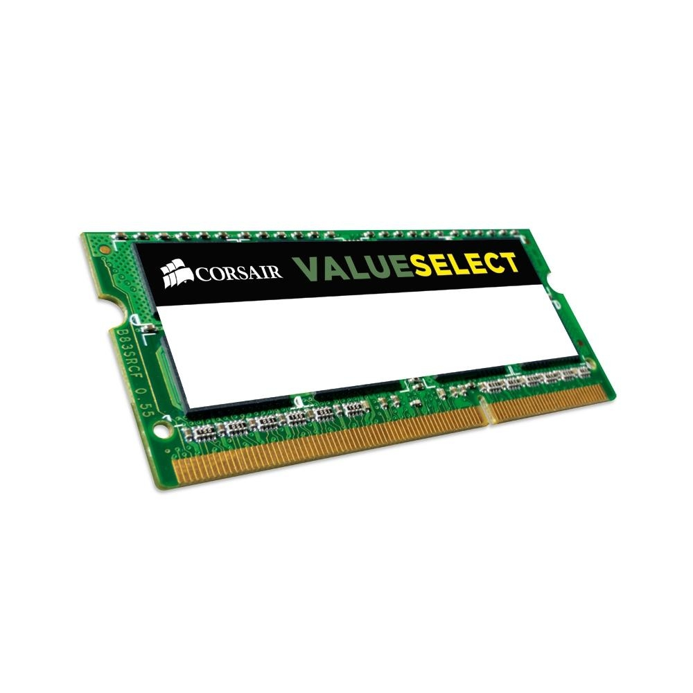 MEMÓRIA CORSAIR VALUE , 4GB, 1600MHZ, DDR3L, NOTEBOOK, CL11 - CMSO4GX3M1C1600C11