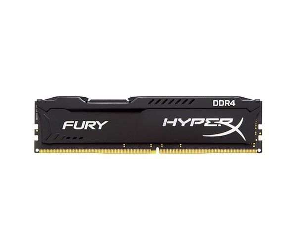 MEMORIA KINGSTON HYPERX FURY 4GB (1X4) DDR4 2133MHZ PRETA, HX421C14FB/4