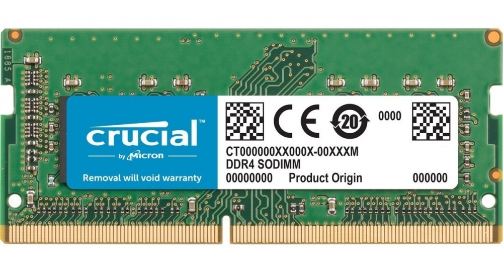 MEMORIA NOTEBOOK 4GB DDR4 2400 CRUCIAL